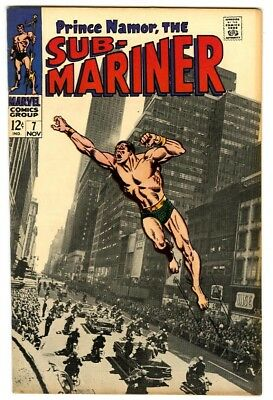 Sub-Mariner #7 (1968) F/VF New Marvel Silver Bronze Collection