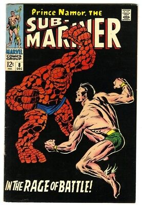 Sub-Mariner #8 (1968) VF- New Marvel Silver Bronze Collection