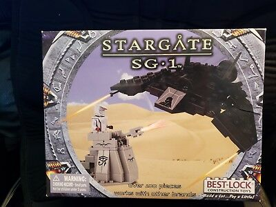 Stargate SG-1 Best-Lock Construction Toy F302/Jaffa Tower 100+ pieces