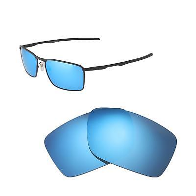d08ff489014d Walleva Ice Blue Polarized Replacement Lenses For Oakley Conductor 6  Sunglasses