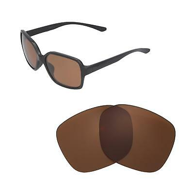 New Walleva Brown Polarized Replacement Lenses For Oakley Proxy Sunglasses