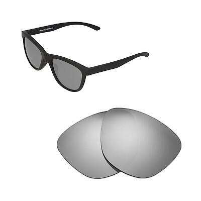 81f0fb531e Walleva Titanium Polarized Replacement Lenses For Oakley Moonlighter  Sunglasses