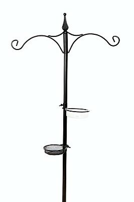 Traditional Metal Garden Wild Bird Feeding Station for Bird Feeders