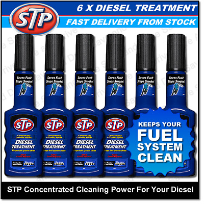 6x STP Diesel Fuel System Treatment Additive Helps Reduce Emissions Stops Smoke