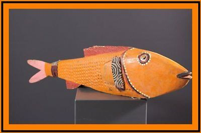 Bozo Fish Private Collection African Art Africain Africana Afrikanische Kunst**
