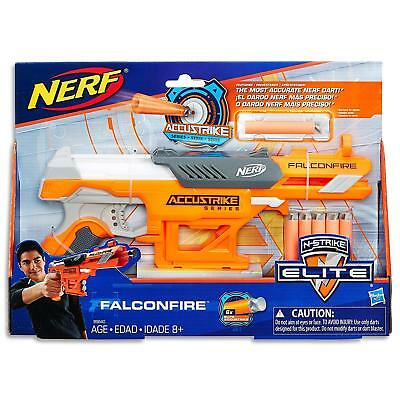 Brand New NERF N-Strike Elite FALCONFIRE Dart BLASTER Accustrike Series Aust Ver