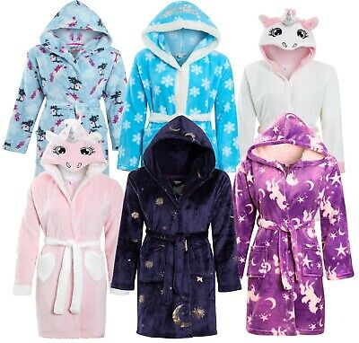 Girls Childrens Soft & Cosy Dressing gown Twosie Pyjamas Ages 5-13 yrs