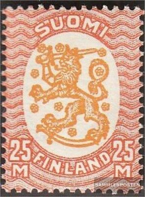 Finland 137W B fine used / cancelled 1927 clear brands Crest