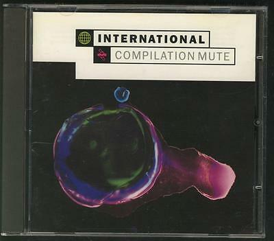 Mute International Compilation Cd Depeche Mode Laibach Erasure Wire Nitzer Ebb N