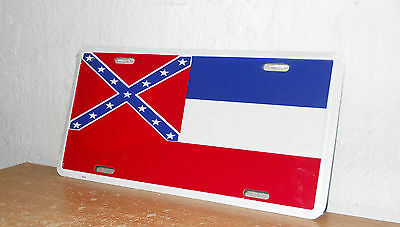 State of Mississippi License Plate     New