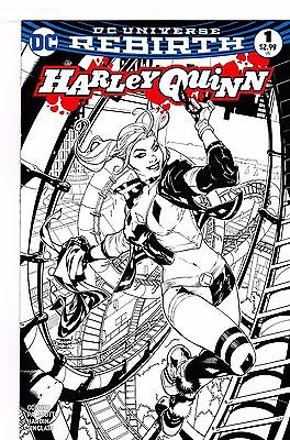 Harley Quinn Vol 3 #1 Midtown Exclusive Terry Dodson Black & White Variant