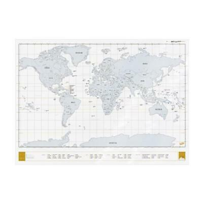 Scratch Map Clear Edition