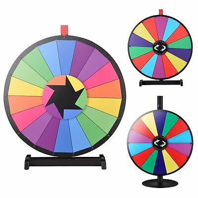 """WinSpin® 24"""" Editable Tabletop Prize Wheel Lottery Fortune Game Tradeshow Party"""