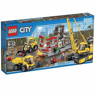 Lego City 60076 Demolition Site Instruction Booklet Manual Only Good