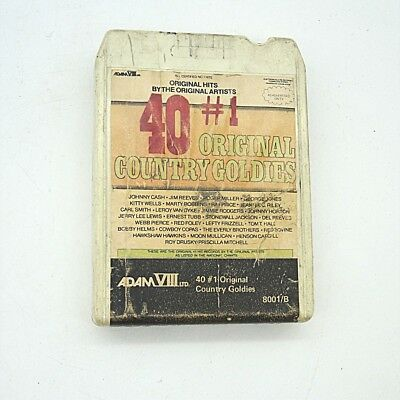 8 Track 8 - Spur Tonband 40 Golden Country Goldies inkl. DHL Paketversand