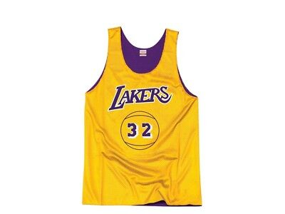Mitchell & Ness Los Angeles Lakers - Magic Johnson Reversible Mesh Tank Top