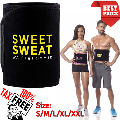 c78a8ef770c  Sweet Sweat Waist Trimmer Belt Burn Fat Easy Weight Loss Workout Slimming  Band