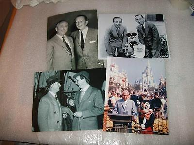 Walt Disney & Roy Disney 8x10 inch photos NEW 1930s Brothers World Opening