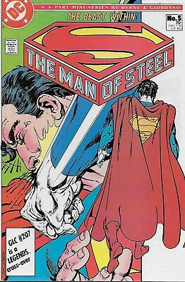 The Man of Steel No.5 / 1986 John Byrne & Dick Giordano