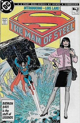The Man of Steel No.2 / 1986 John Byrne & Dick Giordano