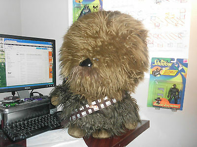 "star wars 24"" chewbacca plush talking target exclusive solo chewy"
