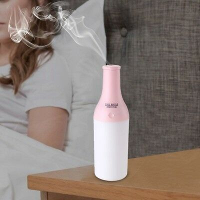 Humidificateur d'Air rose 1.5 W Creative Portable Bouteille Cool Design  -
