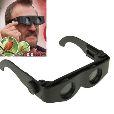 Lunette Loupe Zoomies 400% Grossissement Agrandissement Loupes Lunettes  -