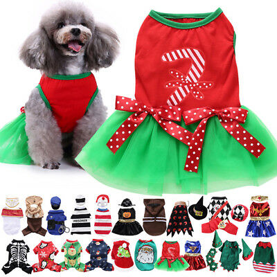 Funny Pet Clothes Costume For Dog Cool Christmas Halloween Costume Pet Clothes