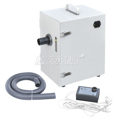 Dental Lab Single-Row Dust Collector Vacuum Cleaner 370W  70m³/h JT-26