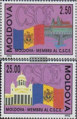 Moldawien 41-42 (complete.issue.) unmounted mint / never hinged 1992 CSCE