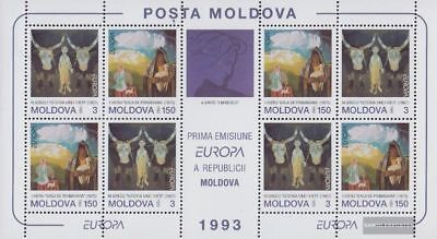 Moldawien 94-95 Sheetlet (complete.issue.) unmounted mint / never hinged 1993 Ar