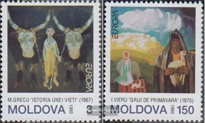 Moldawien 94-95 (complete.issue.) unmounted mint / never hinged 1993 Art