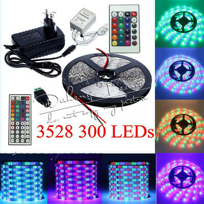3528 SMD Tape Ribbon Lamp Super Bright 5M 300leds LED Flexible Strip Xmas Home