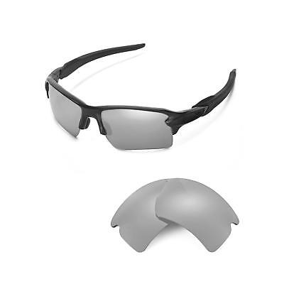 e893f0fb1b New Walleva Titanium ISARC Polarized Replacement Lenses For Oakley Flak 2.0  XL