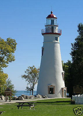 """ACEO """"Marblehead Lighthouse"""" ~ Marblehead, Ohio ~ Signed Photographer's Print"""