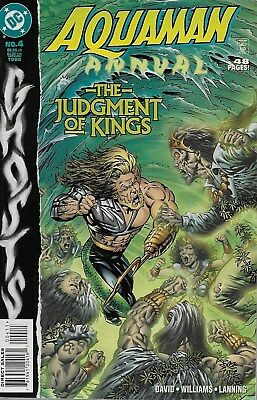 Aquaman Annual No.4 / 1998 Ghosts / Bernie Wrightson Cover