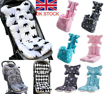 Newborn Baby Car Seat Stroller Liner Cushion Warm Mat Pushchair Cotton Pad Cover