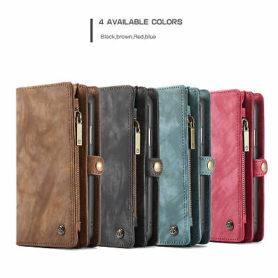 CASEME For Samsung Note S8 S9 Plus Leather Card Slots Wallet Case Cover New