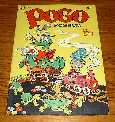 Pogo Possum # 6, Dell Comics 1951 Walt Kelly artwork, Albert The Alligator