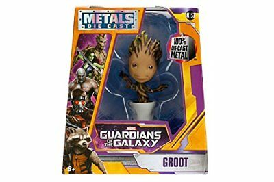 Jada Toys Metals Guardians Of The Galaxy Potted Groot 4 Inch Action Figure