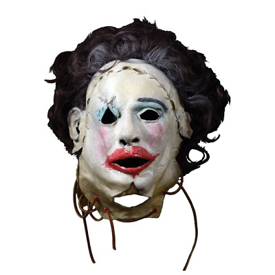 Texas Chainsaw Massacre Leatherface 1974 Pretty Woman Mask by Trick Or Treat