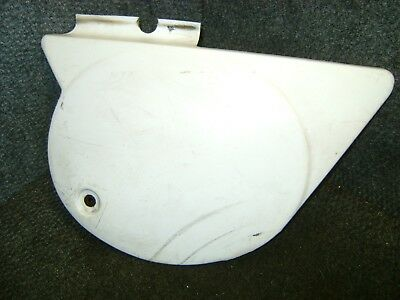 Yamaha Oem Right Side Cover Frame Body Panel Number Plate White Mx250 Mx400 1976