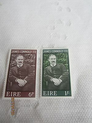 Ireland 1968 Mint N H Set Of 2 S G 245-6  James Connolly   18/021