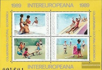 Romania block255 (complete.issue.) unmounted mint / never hinged 1989 INTEREUROP