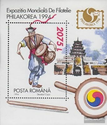 Romania block294 (complete.issue.) unmounted mint / never hinged 1994 Briefmarke