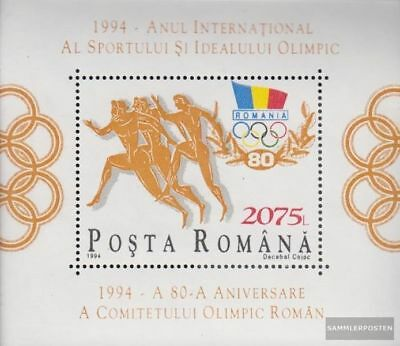 Romania block291 (complete.issue.) unmounted mint / never hinged 1994 100Jahre I