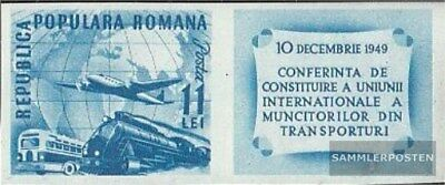 Romania 1193B Zf with zierfeld unmounted mint / never hinged 1949 Union the Tran