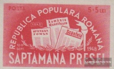 Romania 1155B unmounted mint / never hinged 1948 100Jahre Romanian Press