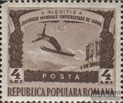 Romania 1247 unmounted mint / never hinged 1951 university-Winter Games