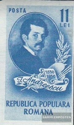 Romania 1202 unmounted mint / never hinged 1950 Ion Andreescu